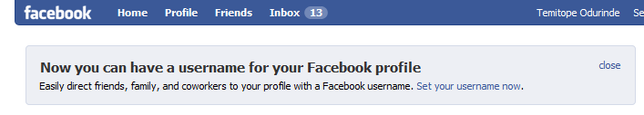 how to change vanity url facebook for business