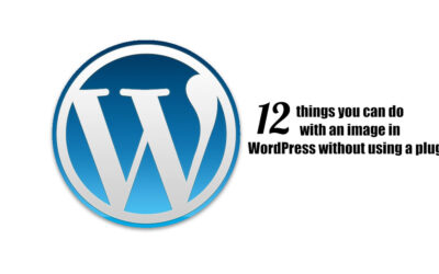 12 things you can do with an image in WordPress without using a plugin