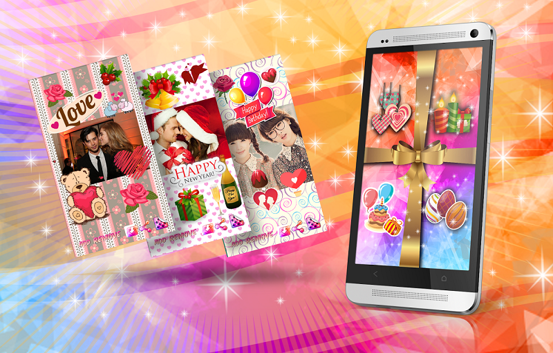 Android greetings card app