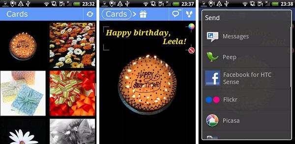 Funny Greeting Ecard app