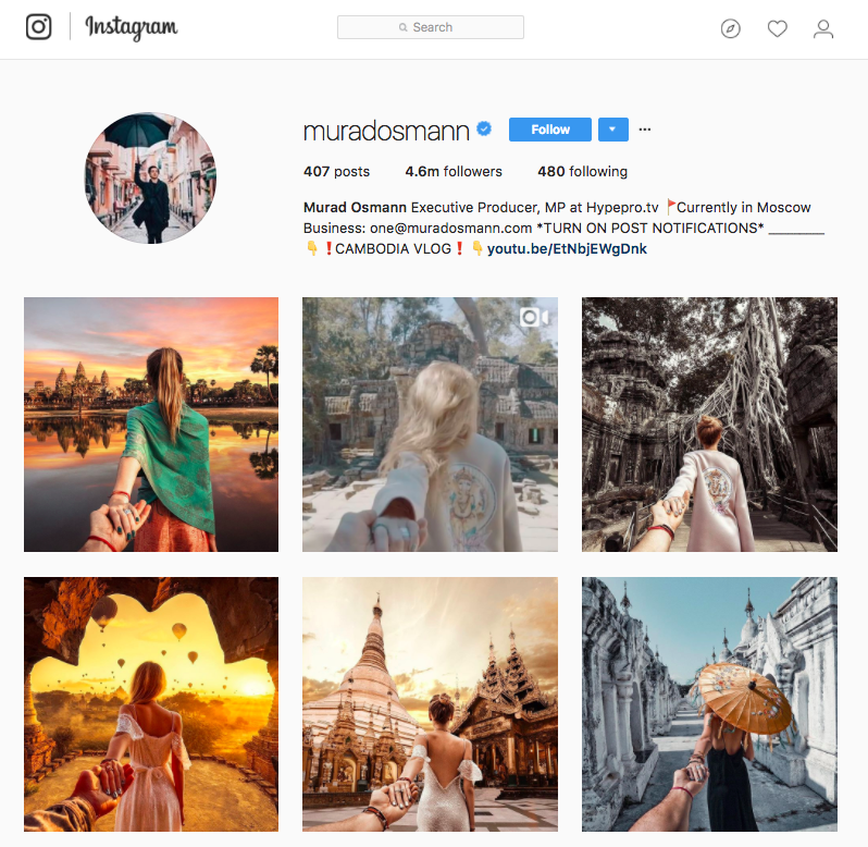 Image result for travel instagram accounts